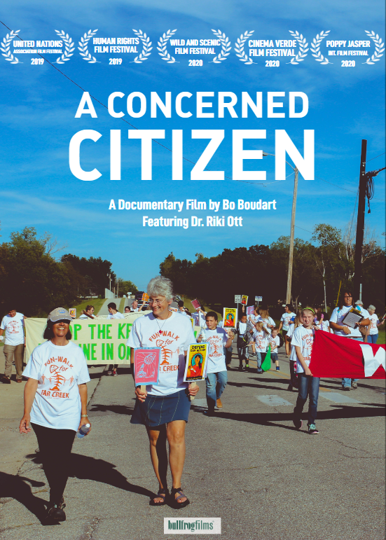 A Concerned Citizen film poster